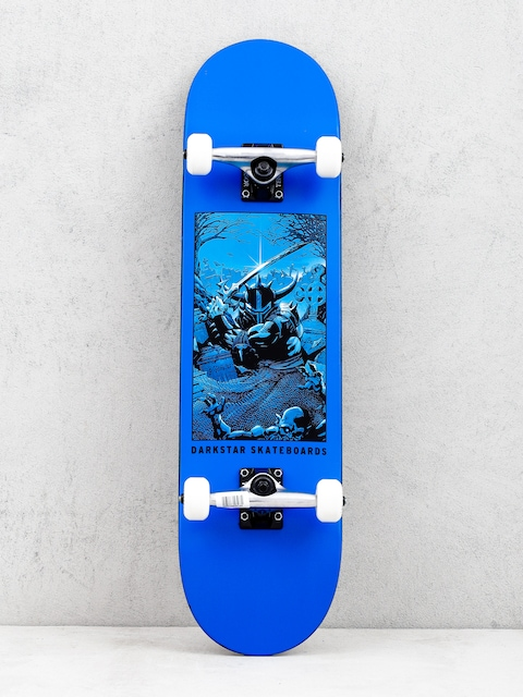 Darkstar Clean Grave Skateboard (blue)