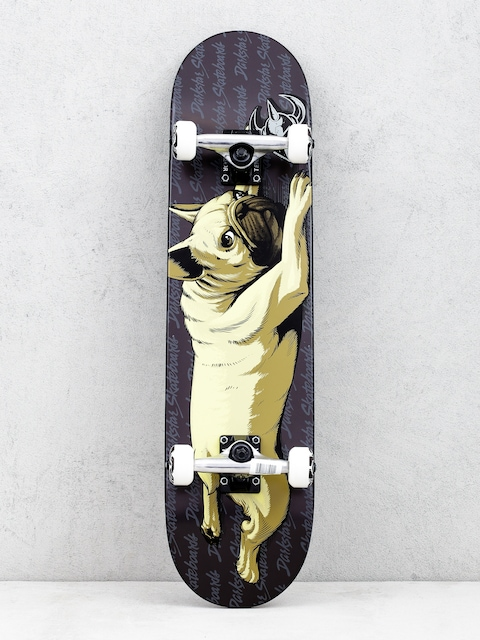 Darkstar Bulldog Skateboard (black)