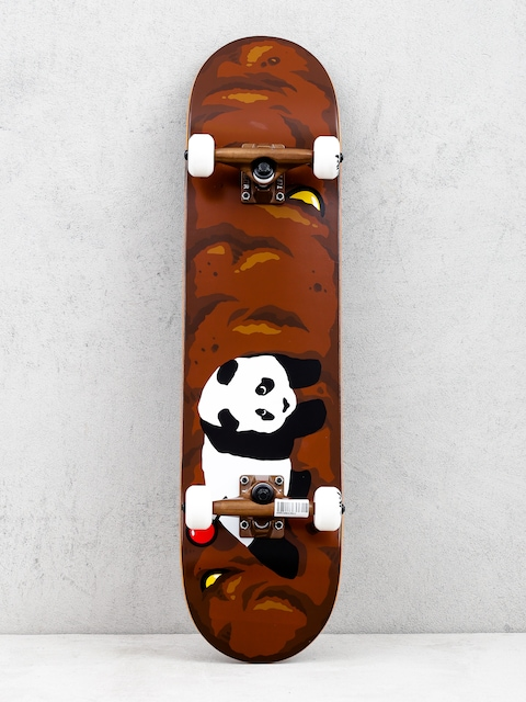 Enjoi Logo Crap Resin Skateboard (brown)