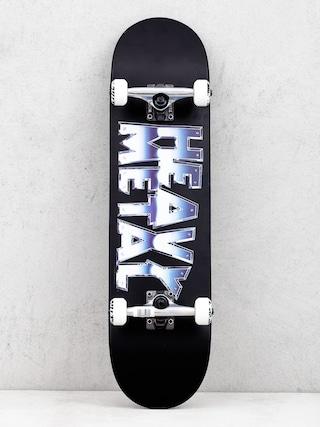 Darkstar Heavy Metal Chrome Skateboard (black)