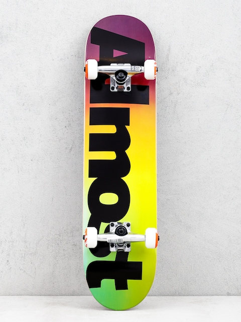 Almost Black Fade Skateboard (multi)