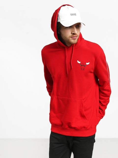 New Era Stripe Pipping Chicago Bulls HD Hoodie