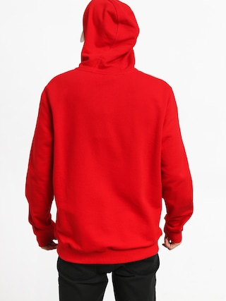New Era Stripe Pipping Chicago Bulls HD Hoodie (red)