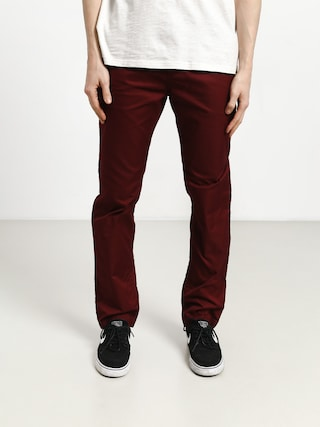 DC Worker Straight Pants (cabernet)