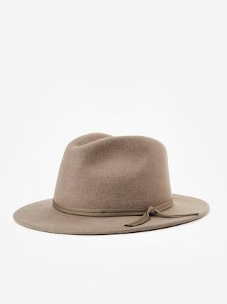 2d72a73c472ddc Brixton Coleman Fedora Hat (heather natural)