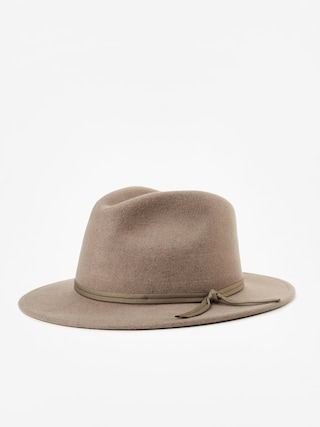 Brixton Coleman Fedora Hat (heather natural)