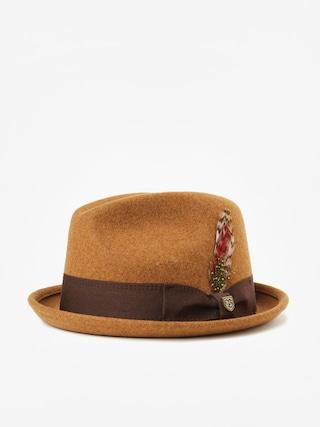 Brixton Gain Fedora Hat (heather coffee)