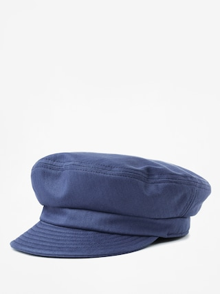 Brixton Fiddler Un ZD Flat cap (washed navy)