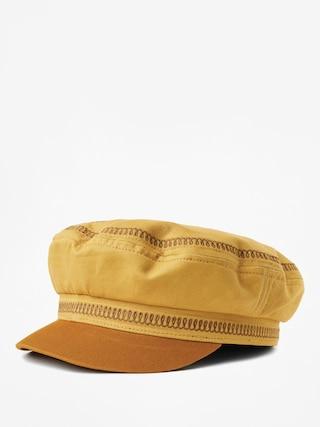 Brixton Fiddler Emb ZD Flat cap (nugget gold)