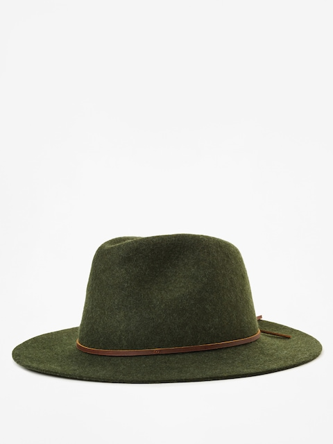 Brixton Wesley Fedora Hat (heather green)