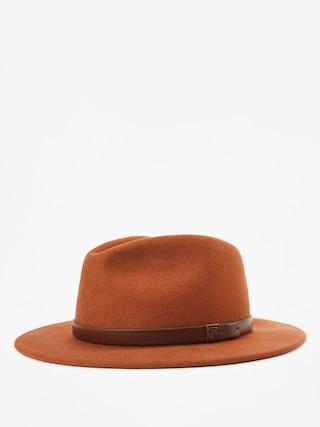 Brixton Messer Fedora Hat (henna)