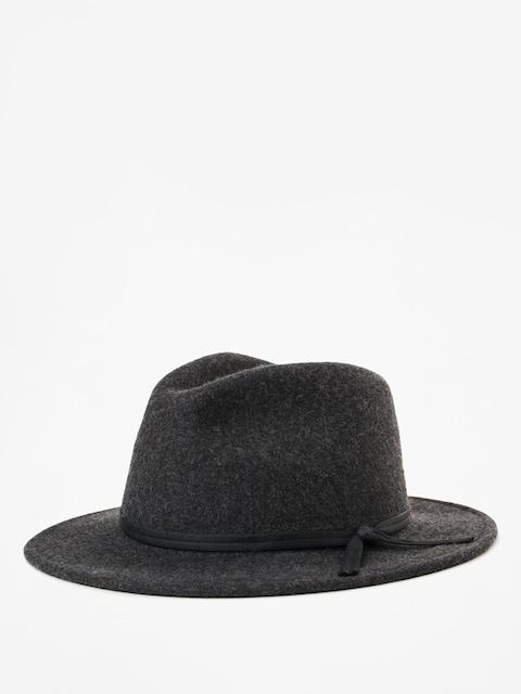 Brixton Coleman Fedora Hat (black mix)