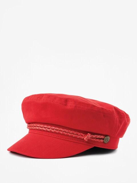 Brixton Ashland ZD Flat cap Wmn (scarlet)