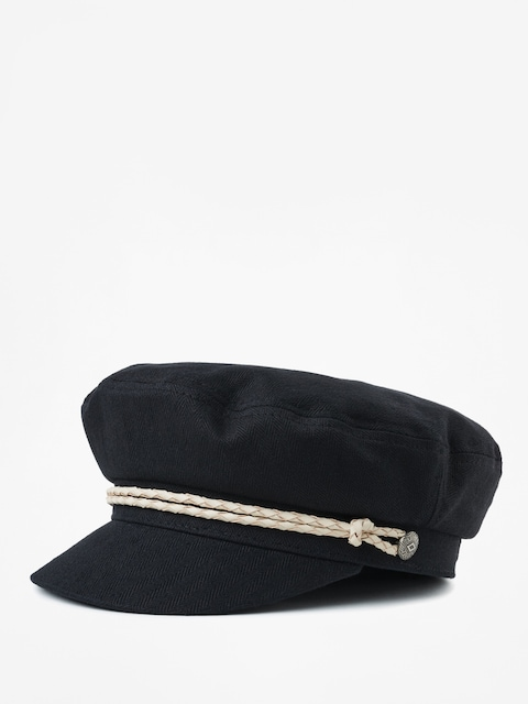 Brixton Ashland ZD Flat cap Wmn (black/off white)