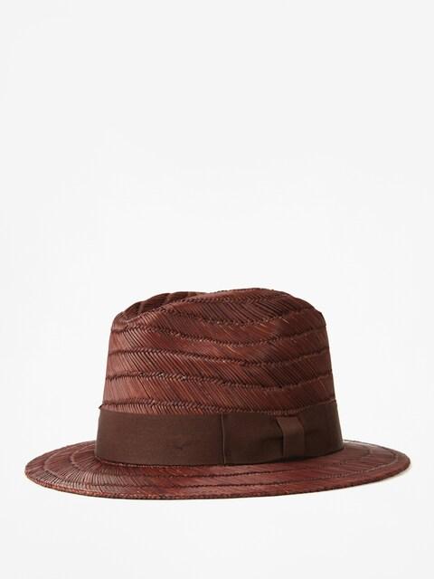 Brixton Rollins Fedora Hat (brown)