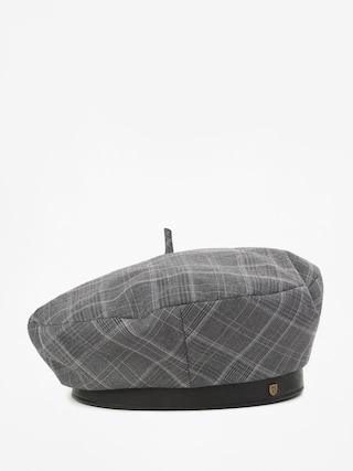 Brixton Audrey II Beret Flat cap Wmn (grey plaid)