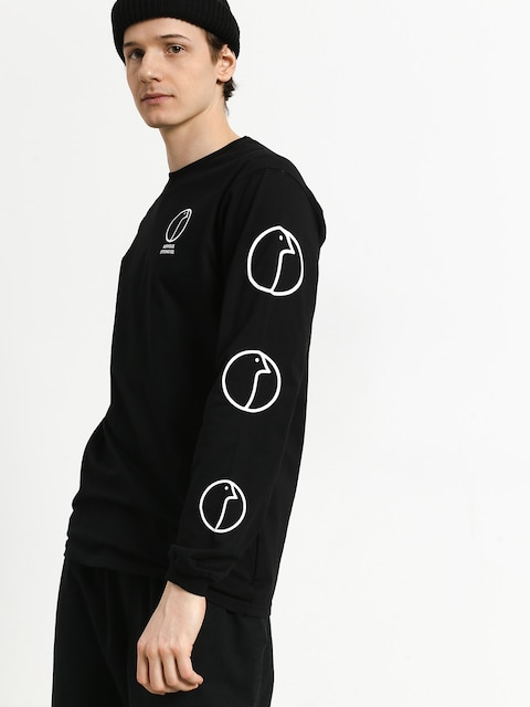 Nervous Profile Longsleeve (black)