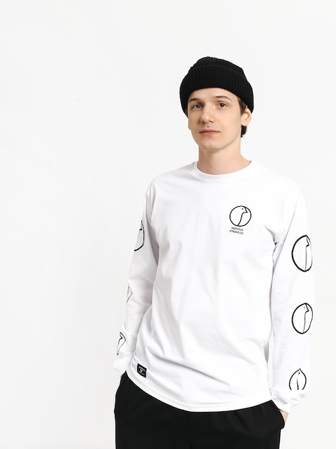 Nervous Profile Longsleeve (white)