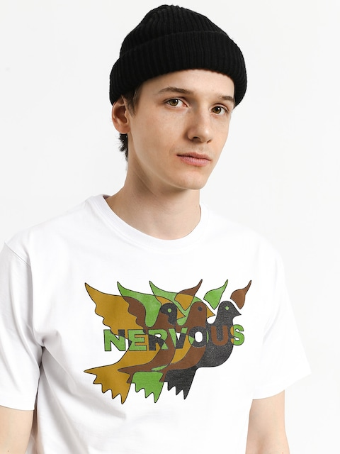 Nervous Camo T-shirt (white)