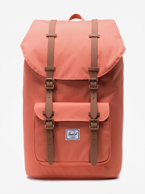 Herschel Supply Co. Little America Backpack (apricot brandy/saddle brown)
