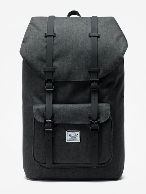 Herschel Supply Co. Little America Backpack (black crosshatch/black)