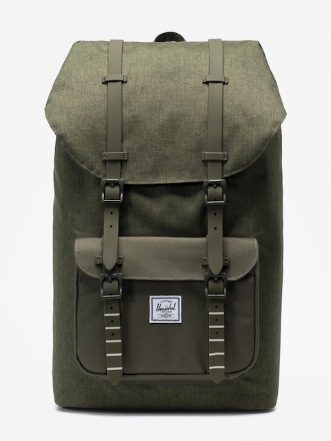Herschel Supply Co. Little America Backpack (olive night crosshatch/olive night)