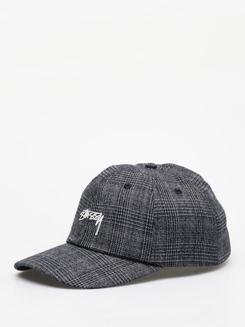 Stussy Glen Plaid Low Pro ZD Cap (black)