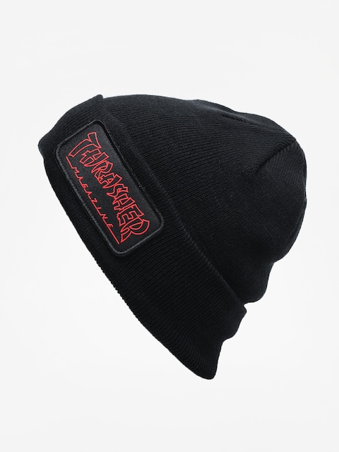Thrasher China Banks Patch Beanie (black)