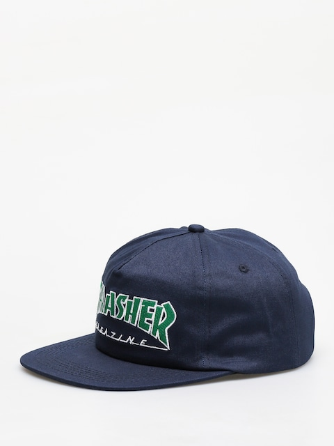 Thrasher Outlined ZD Cap (navy)