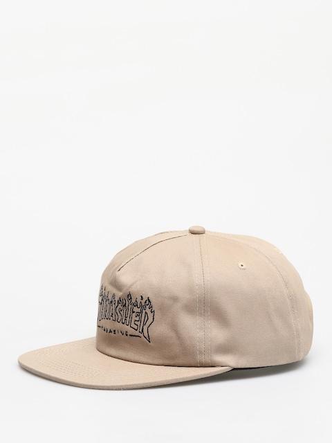 Thrasher Drunk Witch ZD Cap (tan)