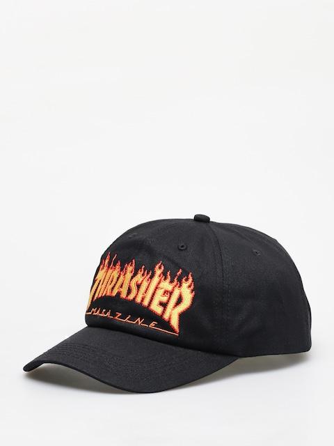 Thrasher Flame Old Timer ZD Cap (black)