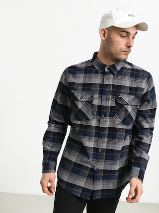 Brixton Bowery Flannel Shirt (blue night)