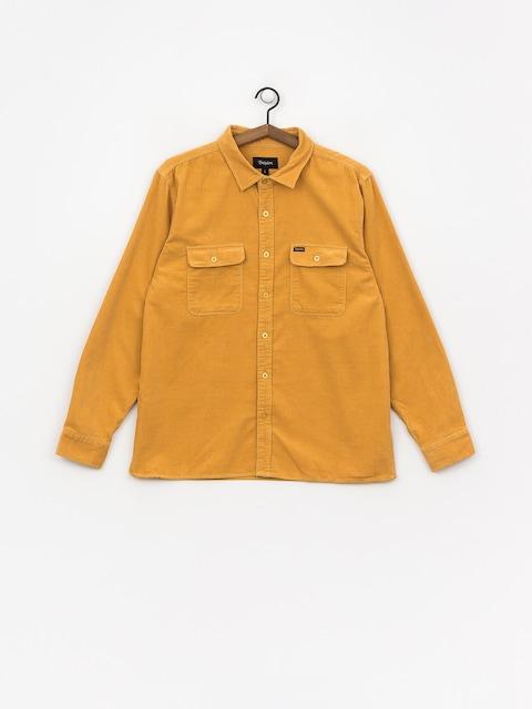 Brixton Archie Flannel Shirt (nugget gold)