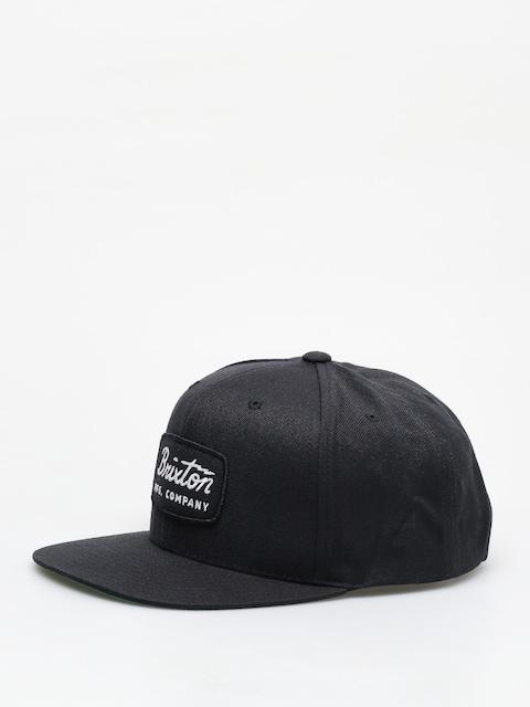 Brixton Jolt Snapback ZD Cap (black/black/white)