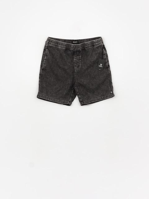 Brixton Steady Elastic Wb Shorts (black acid wash)
