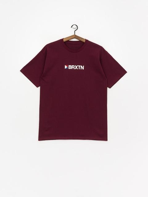 Brixton Stowell Iv Stt T-shirt (burgundy)