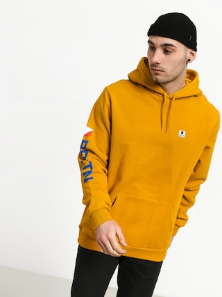 Brixton Stowell Intl HD Hoodie (nugget gold)