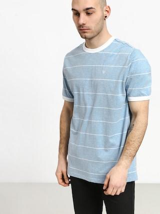 Brixton B Shield T-shirt (light blue/white)