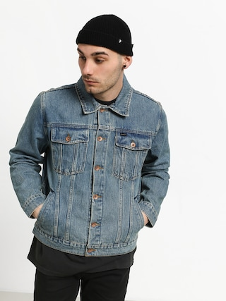 Brixton Cable Denim Jacket (faded indigo)