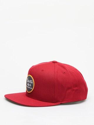 Brixton Wheeler Snapback ZD Cap (burgundy/black)