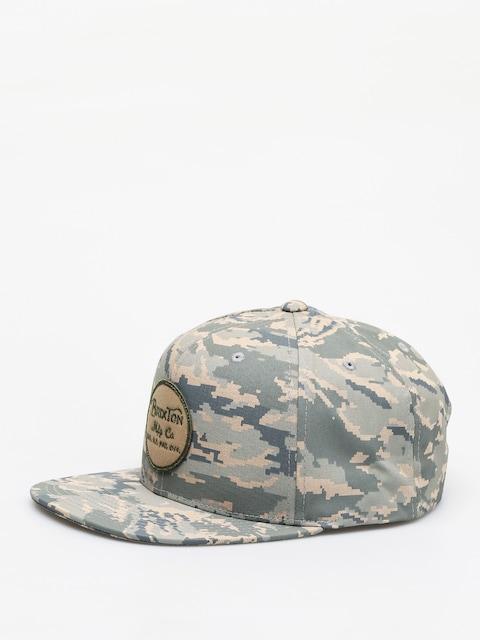 Brixton Wheeler Snapback ZD Cap (digi tiger camo)