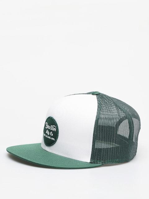 Brixton Wheeler Mesh ZD Cap (white/leaf)