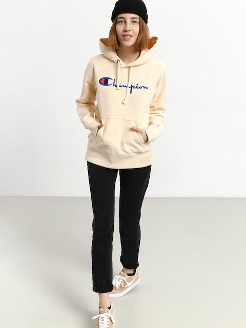 Champion Premium Reverse Weave Hooded Sweatshirt HD Hoodie Wmn