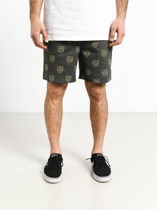 Brixton Parole Trunk Shorts (black yellow)