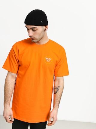 Brixton Wheeler II Stnd T-shirt (orange/yellow)