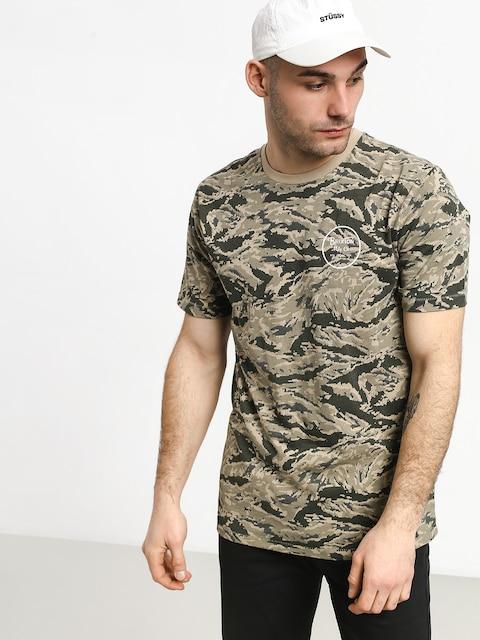 Brixton Wheeler II Prem T-shirt (digi tiger camo)
