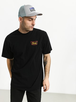 Brixton Stith Stnd T-shirt (black/gold)