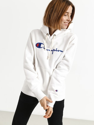 Champion Premium Reverse Weave Hooded Sweatshirt HD Hoodie Wmn (wht)