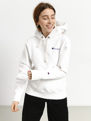Champion Premium Reverse Weave Hooded Sweatshirt HD Hoodie Wmn (wht)