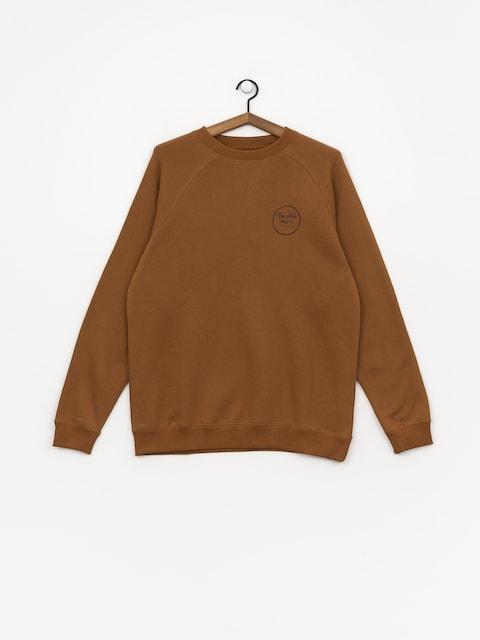 Brixton Wheeler Intl Crew Sweatshirt (washed copper)